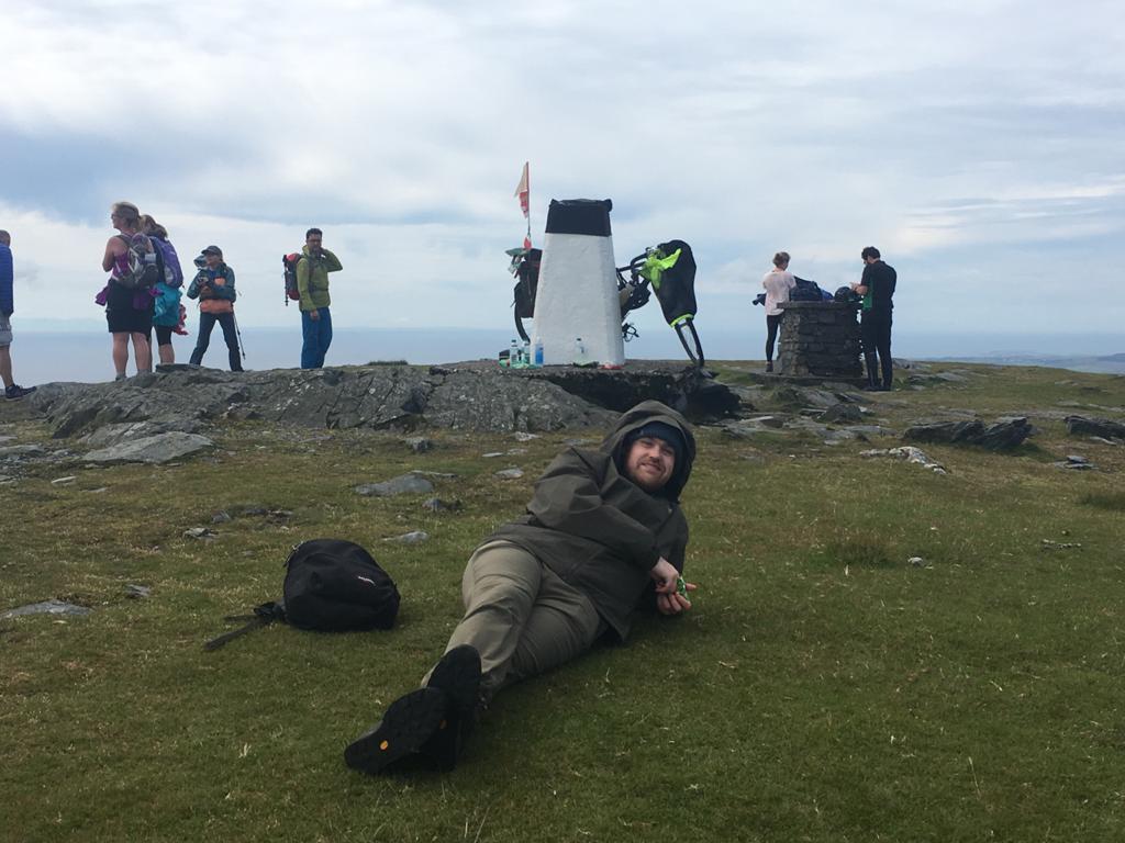 Sean Manx Three Peaks Challenge